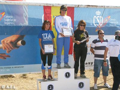 Podium D45: 1ª Raquel Roig (Piloña Deporte)