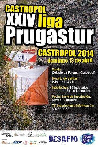 Orientacion Nocturna y Diurna finde en Castropol 12-13 abril Orientacioncastropolliga2014