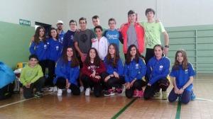 Selección Asturiana en Granada.