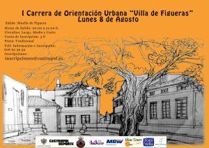 Cartel Carrera Urbana de Figueras 2016-p