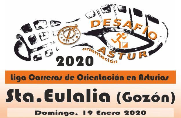 Sta.Eulalia - Gozón - Desafio Astur Orientación